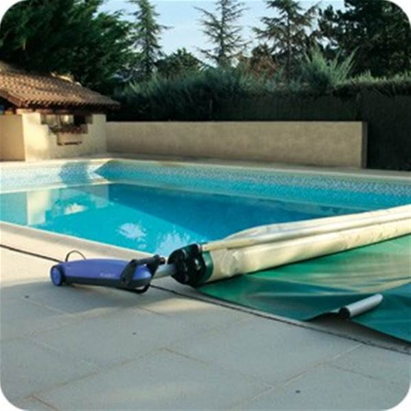 Motorisation b che barres piscine rolltrot for Bache automatique piscine