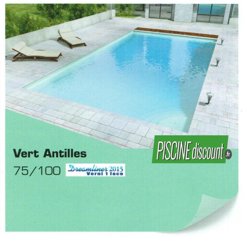 Rev tement liner piscine uni verni 1 face alkorplan 2015 for Piscine acier liner 75 100