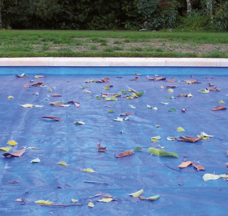 Bâche de protection pour volet de piscine COVER PROTECT