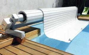 Store Automatique piscine Hors sol Mobile 11mx4,50m