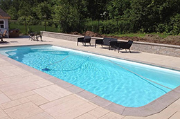 Piscine polyester RECTANGULAIRE 960
