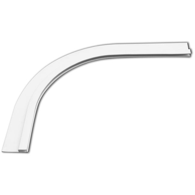 Profil d accrochage d angle hung pvc for Accrochage liner piscine