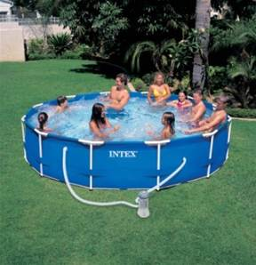 Promo piscine Intex