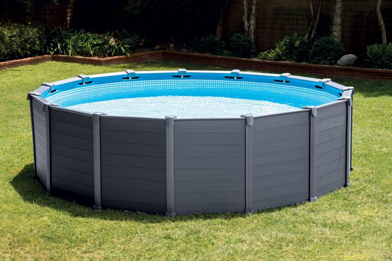 Piscine intex en promotion for Piscine gonflable intex ronde