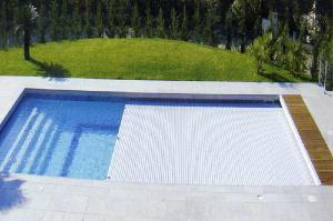 Couverture piscine en coffre 9mx5m