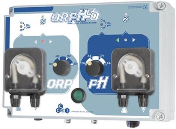 R gulateur orp ph auto orpheo for Concentration chlore piscine
