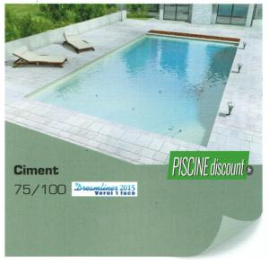 Revêtement liner piscine uni verni 1 face alkorplan 2015 Ciment
