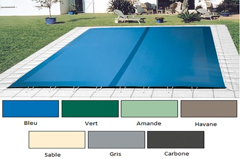Couverture opaque s curit for Bache de securite pour piscine