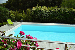 Piscine coque polyester RECTANGULAIRE 600