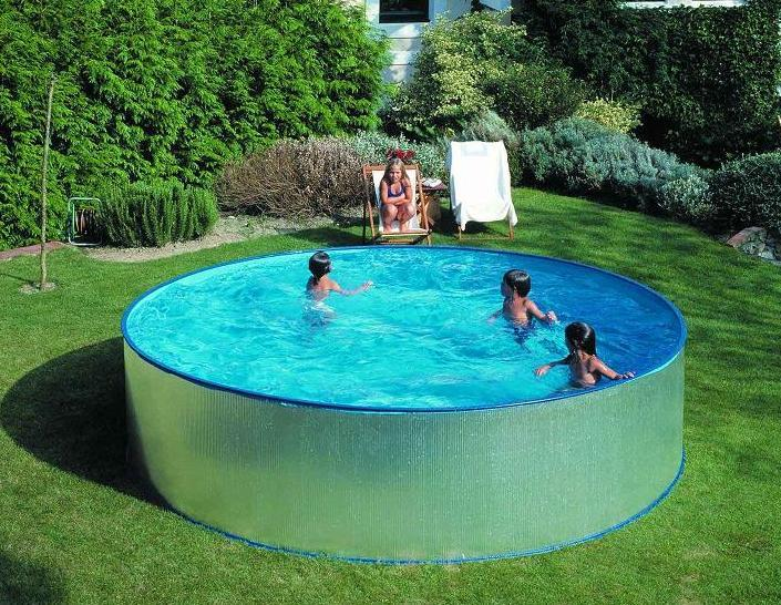 Piscine gonflable ronde 4m for Piscine hors sol promo