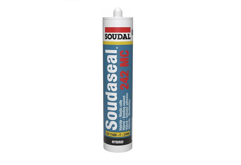 Colle Mastic pour piscine et multi-usages Soudaseal 290 ml Sable