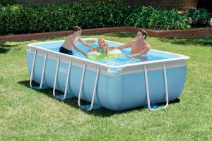 Piscine rectangulaire intex 4,88m x 2,44m x 1,07m
